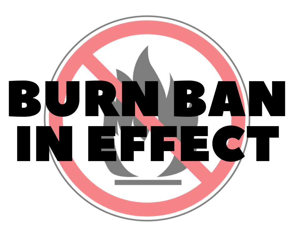 Burn Ban Opens in new window