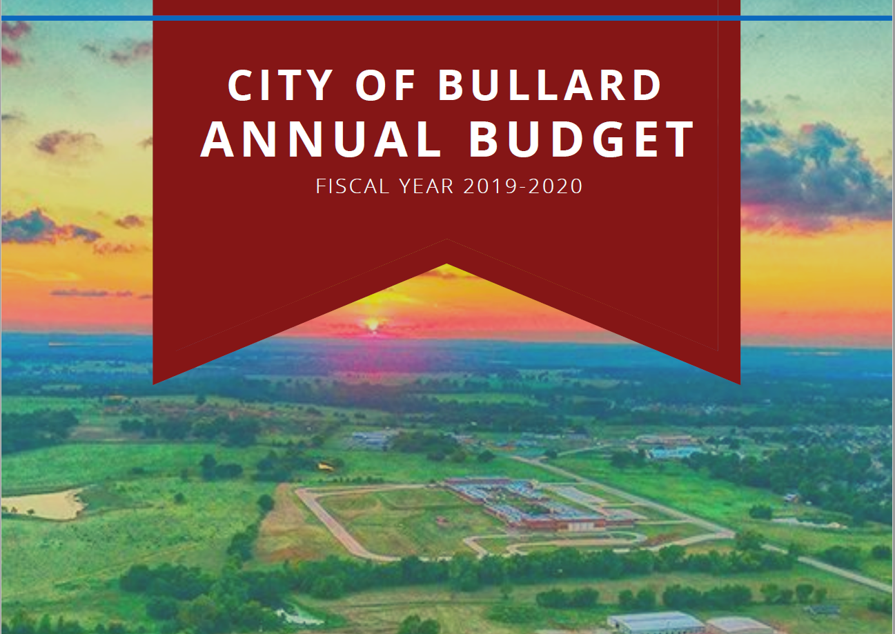 19-20 Budget Cover