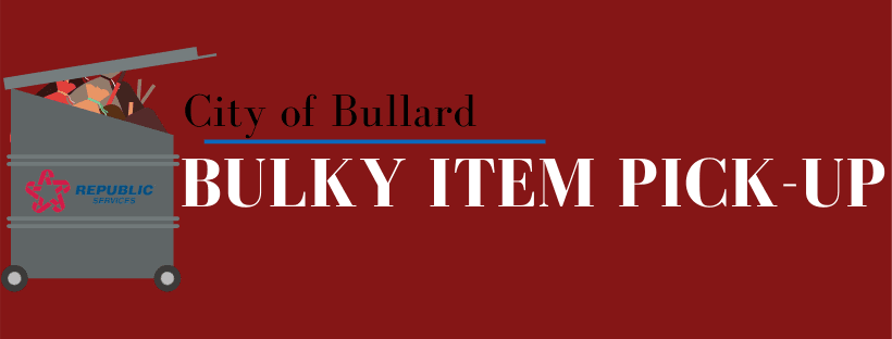 Bulky Item Pickup Cover